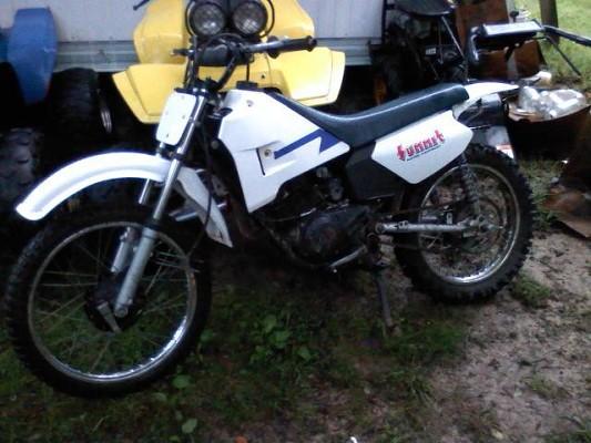 Yamaha Rt 100 Dirt Bike