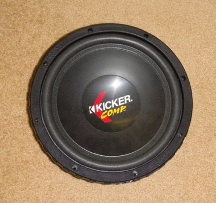 Kicker 10C1Comp 4-ohm subwoofer at m