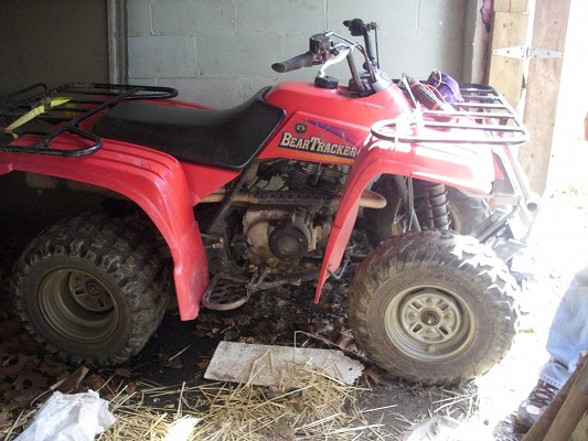 Yamaha Bear Tracker Atv