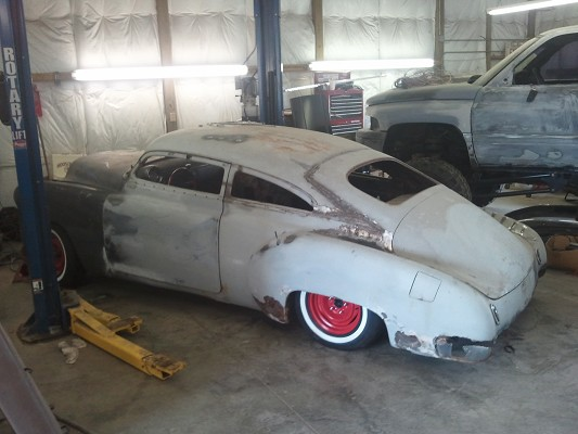 Chopped Top On 51 Chevy Fleetline General Model Cars