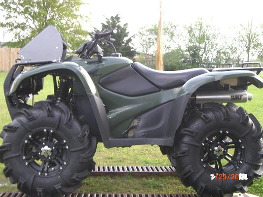 Honda 420 lifted submited images
