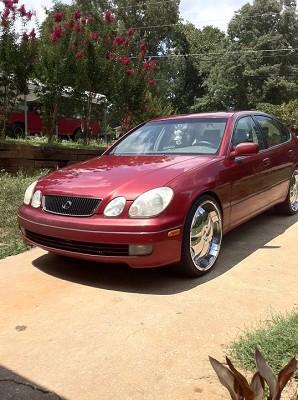 1999 Lexus Gs 300 On 22s 8500 Possible Trade 100439850 Custom