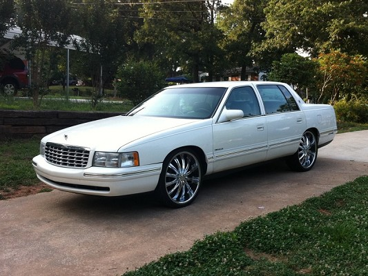 1997 Cadillac On 22s $6,000 Possible Trade