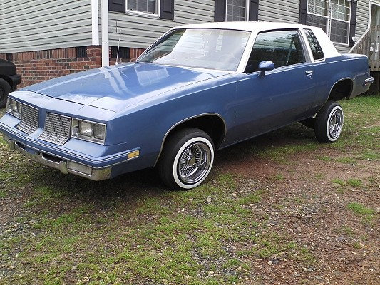 1985 Oldsmobile Cutlass Lowrider 2900 Or Best Offer