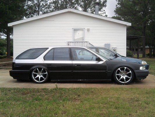 1991 Bagged Honda Accord Sw 4500 Or Best Offer 100380130