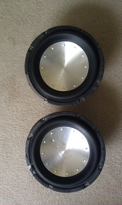 2 Rockford T-1 subs and HIfonics super class D amp $400 Possible