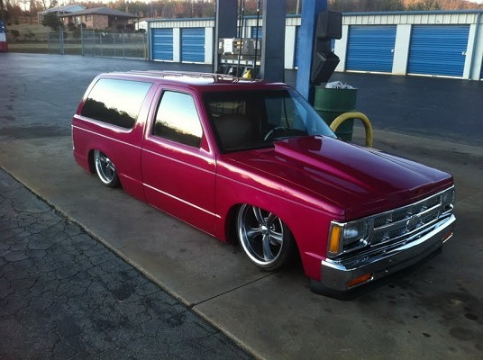 1986 Chevrolet bagged-bodied s10/blazer $3,500 - 100485643 ...