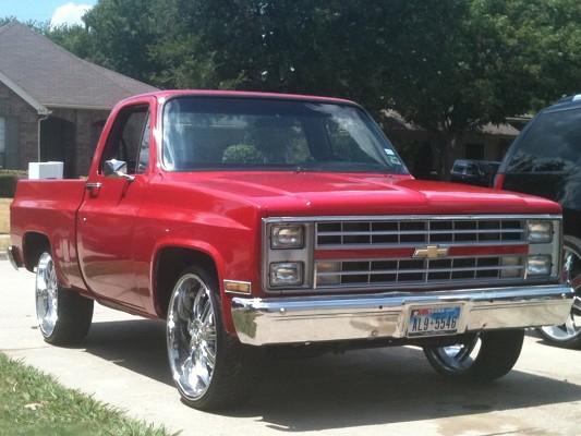 86 chevy silverado truck parts