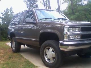 1997 Chevrolet 2 DOOR TAHOE 4wd $1 - 100387678 | Custom ...