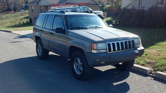 1996 Jeep Grand Cherokee Laredo Lifted