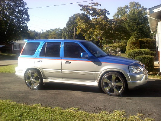 1997 Honda crv $9,200 Possible trade - 100395189   Custom Show Truck Classifieds   Show Truck Sales