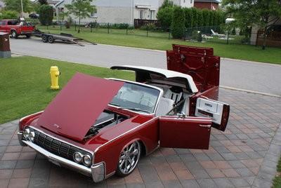 1964 Lincoln Continental 75 000 100298818 Custom Show Car