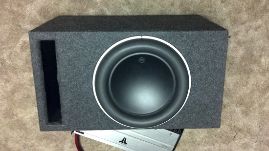 12 w7 jl audio sub with ported box 1 possible trade. Black Bedroom Furniture Sets. Home Design Ideas