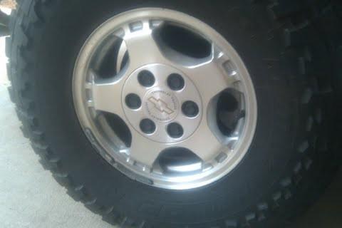 285 75 16 >> 2001 Silverado Z71 Wheels $275 or best offer - 100342057 ...