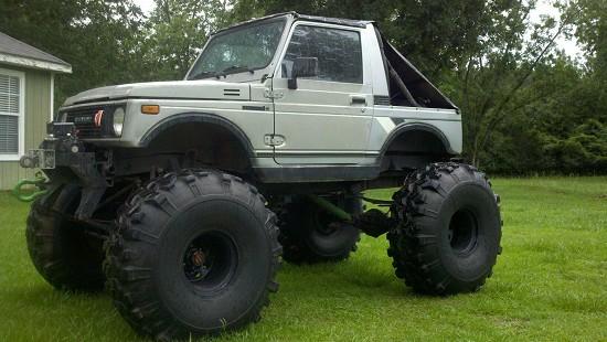 Suzuki Samurai Full Width Axles