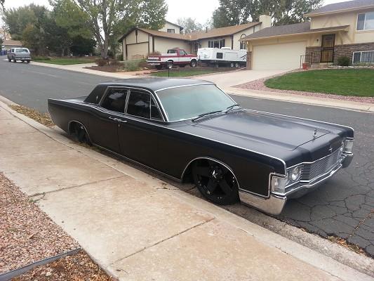 1968 Lincoln Continental $12,000 Possible trade - 100530339   Custom