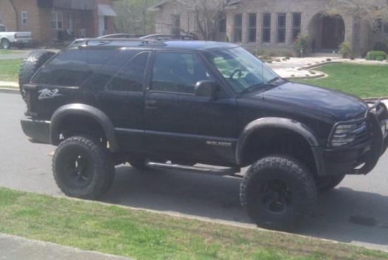 2000 Chevrolet zr2 blazer $1 - 100421394   Custom Lifted ...