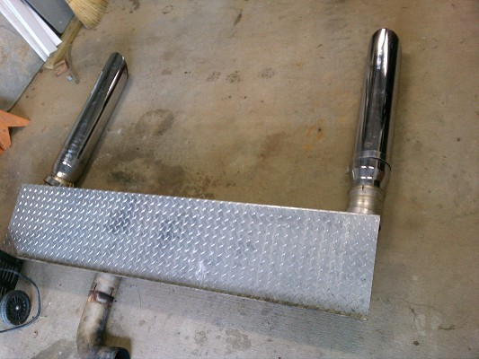 Smyrna Auto Sales >> complete exhaust stack stacks kit miter cut 6 inch $450 or