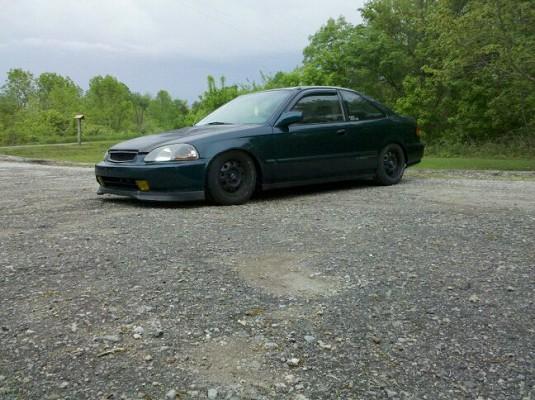 Honda civic 1997 coupe jdm