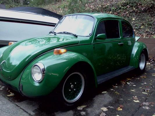 1974 turbocharged fully restoerd wide body super beetle. Black Bedroom Furniture Sets. Home Design Ideas
