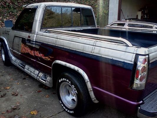 1987 chevy silverado choo choo custom