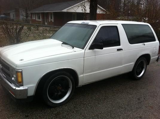 Chevy S10 Blazer Wheels 1991 Chevrolet s10 blazer $1 - 100364463 | Custom Mini Truck ...