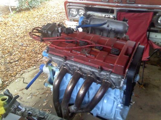 B18b1 B20z Engine Honda And Bunch Of Extras 500