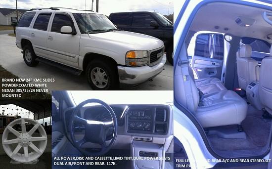 2002 GMC yukon $11,500 - 100539485   Custom Sport Utility ...