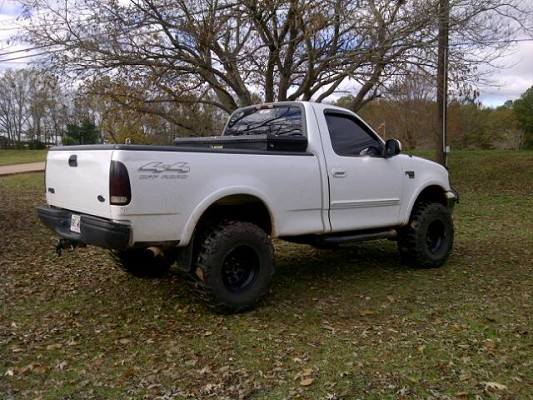 1999 Ford F 150 4x4 Lifted 7000 Or Best Offer 100451326 Custom