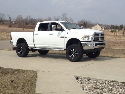 2010 dodge ram 2500 laramie 45500 or best offer 100475865 custom lifted truck classifieds lifted truck sales - White Dodge Ram 2500 Lifted