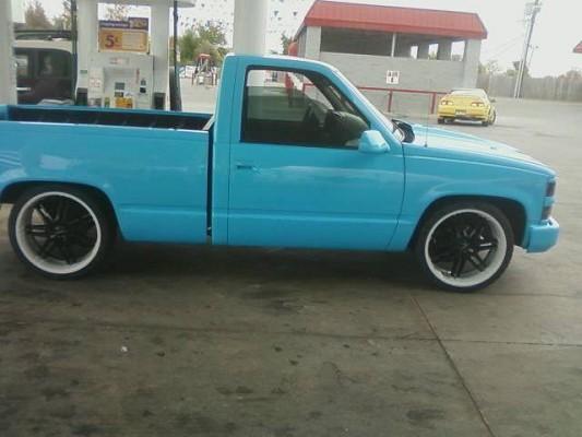1995 Chevrolet Silverado 3 500 Firm 100390879 Custom