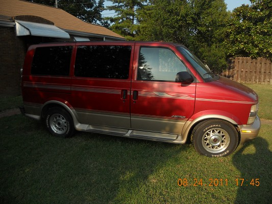 1997 Chevrolet Astro Regency Conversion 3000 Possible Trade