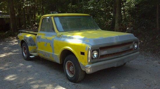 1969 Chevrolet C10 Step Side 1 500 Or Best Offer 100417114