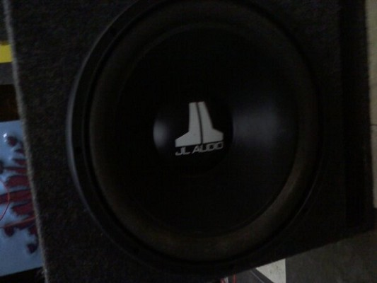 JL Audio w3 15 in slot port box $125 or best offer - 100447618
