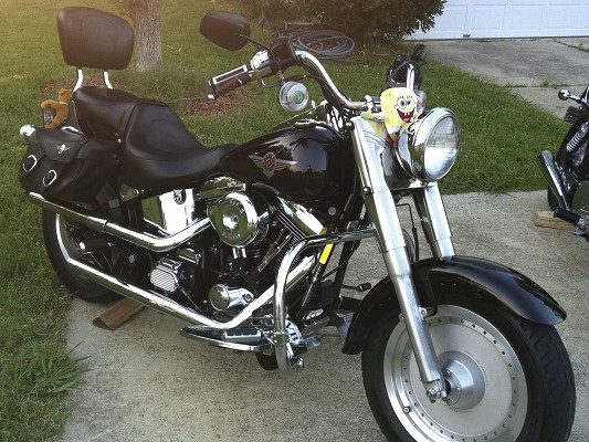 1999 Harley Davidson Fat Boy 9 000 Trade 100403712 Custom