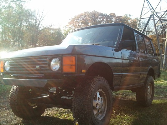 Range Rover Lifted >> 1992 Land Rover Range Rover Classic 5 500 Possible Trade