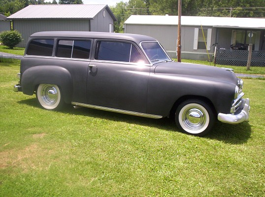 1951 Plymouth station wagon $12,500 Possible Trade ...