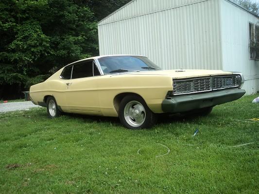 1968 Ford Galaxie 500 Fastback 1 100408625 Custom Classic Car