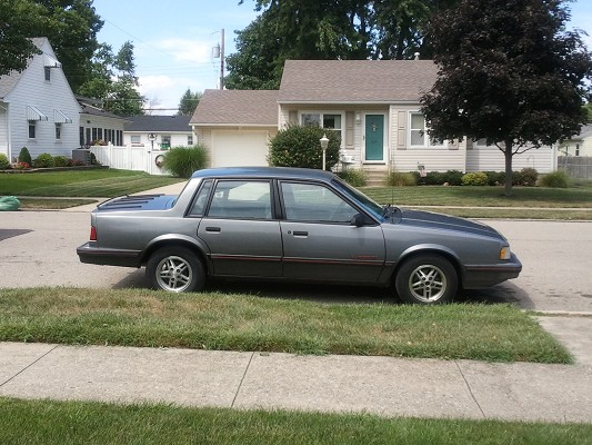 Junkyard Find: 1985 Chevrolet Celebrity Eurosport Wagon ...