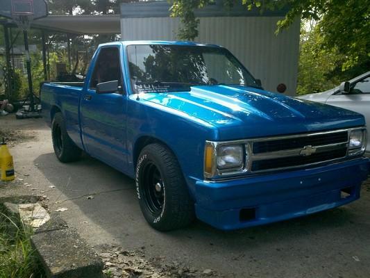 1993 Chevrolet S10 V8 5 Speed 1 100435652 Custom Hot