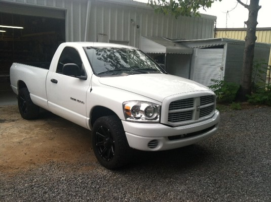 dodge ram    trade  custom full size truck classifieds