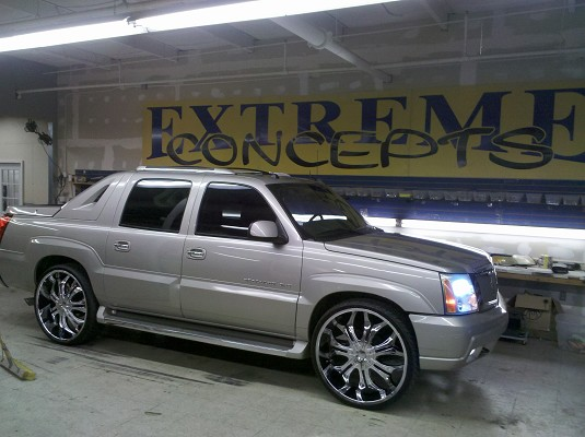 2005 Cadillac Escalade Ext 1 100460139 Custom Show Truck Clifieds S