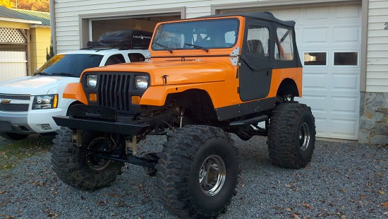 1989 jeep wrangler 7 500 possible trade 100444848 custom lifted truck classifieds lifted. Black Bedroom Furniture Sets. Home Design Ideas
