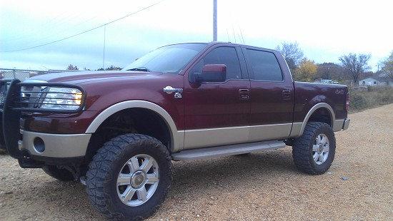 Lifted F150 King Ranch