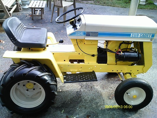 Cub Cadet 124 Pulling Tractor : Cub cadet pulling tractor pictures to pin on pinterest