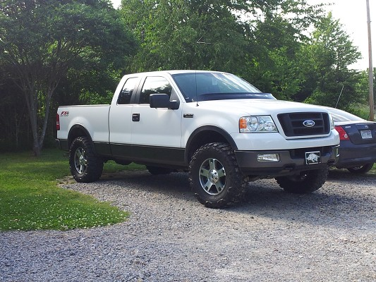 2005 ford f 150 pickup fx4 performance parts and autos weblog. Black Bedroom Furniture Sets. Home Design Ideas