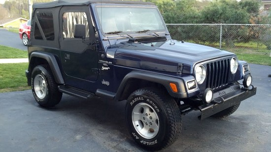 1997 jeep wrangler purple color http www mautofied com 1997 jeep