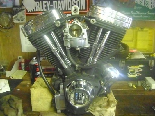 s&s 113 motor with carb and crane hi-4 ignition $2,800