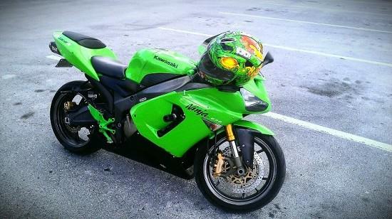 2005 Kawasaki Zx6r 636 Ninja 3 500 Firm 100506502