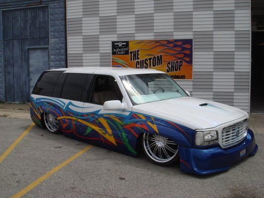 1999 Cadillac Escalade 1 Possible Trade 100576801 Custom Mini Truck Clifieds S
